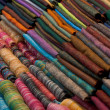 Stock Photo: Silk scarfs