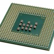 Close up of a CPU processor — Foto Stock