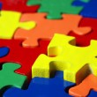 Stock Photo: Colorful puzzle
