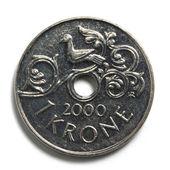 Norwegian krone — Stock Photo