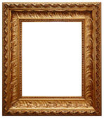 Classic gold frame — Stock Photo