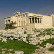 Erechtheum in Acropolis, Athens — Stock Photo #3739829