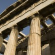 Architectural detail: greek temple — Stock Photo
