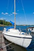 Jacht — Zdjęcie stockowe