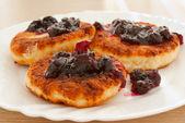 Curd pancake — Stock Photo