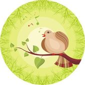 Spring card — Stockvector