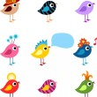 Bird set — Stock Vector #3447775