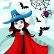 Royalty-Free Stock Imagen vectorial: Halloween card