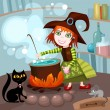 Royalty-Free Stock Vector Image: Witch