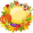 Royalty-Free Stock Vector Image: Harvest card