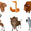 Royalty-Free Stock Vectorafbeeldingen: Animal set