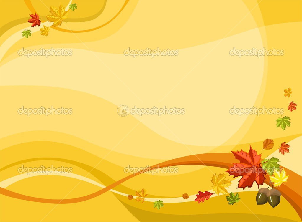 Vector illustration of a autumn card  Stock Vector #3918643