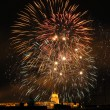 Firework of Budapest — Stock Photo