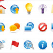 Royalty-Free Stock Photo: Universal Web icons 4