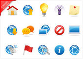 Icone web Universal 4 — Foto Stock