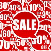 Szalony sprzedaży — Zdjęcie stockowe