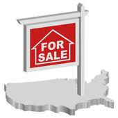 Mortgage crisis — Stock Photo