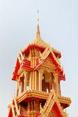 Buddhistiska bell tower — Stockfoto