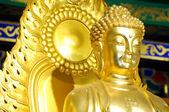 Le visage de bouddha — Photo
