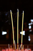 The joss stick — Stockfoto