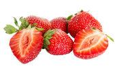 Some strawberries — Stock Photo