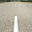Empty road with strip — Stock Photo