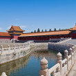 Stock Photo: Bridge in Forbidden City