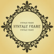 Royalty-Free Stock Vector Image: Vintage frame