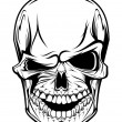 Royalty-Free Stock Vectorielle: Danger skull