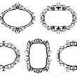 Vintage frames and borders - Stock Vector
