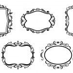 Vintage frames — Stock Vector #3386655