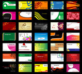 Various business cards — Stockvektor