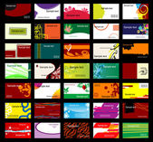 Various business cards — Stockvector