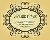 Vintage frame — ストックベクタ