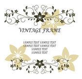 Vintage frame — Stock Vector
