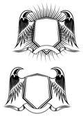 Heraldické prvky — Stock vektor