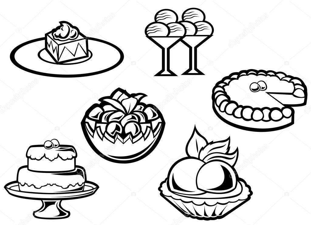 Angel Food Cake Cartoon