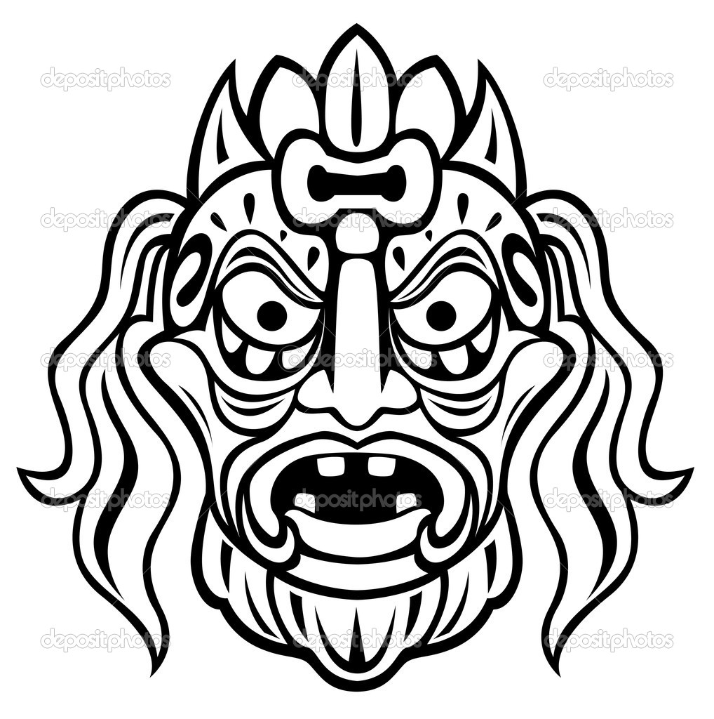 Mayan mask coloring pages coloring pages for Coloring pages masks