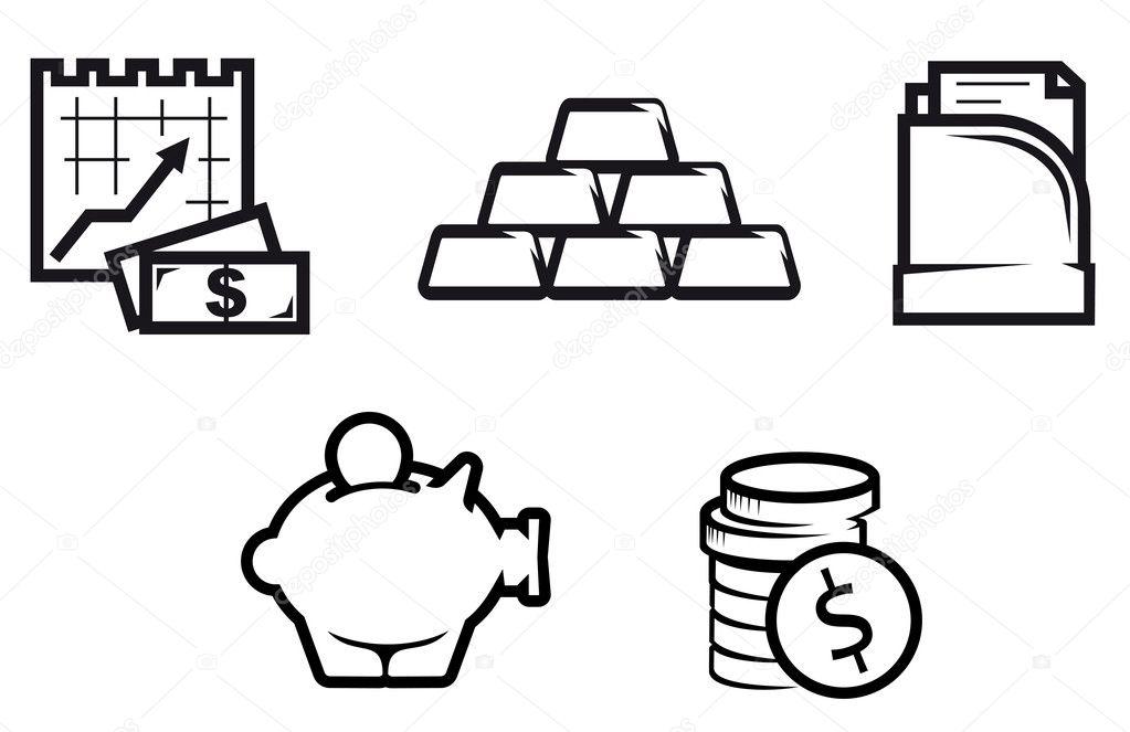 символы экономики рисунок