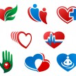 Royalty-Free Stock Vector Image: Heart symbols