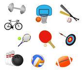 Sport symbols — Stock Vector