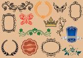 紋章の要素 — ストックベクタ