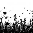 Royalty-Free Stock 矢量图片: Grass silhouette