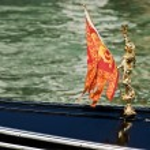 Gondola at the canal in Venice. Italy. — Stock Photo #3392921