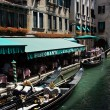 Gondola at the canal in Venice. Italy. — Stock Photo #3392929