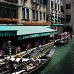 Gondola at the canal in Venice. Italy. — Stock Photo