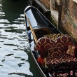 Gondola at the canal — Stock Photo