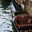 Gondola at the canal — Stock Photo #3392965