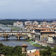 Bridges of Florence — Stock Photo