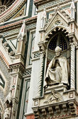 Sculpture of main Cathedral of Florence — Stockfoto